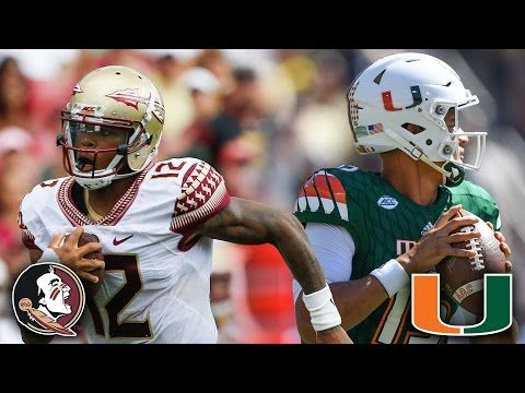 FSU vs. Miami: A Rivalry Renewed