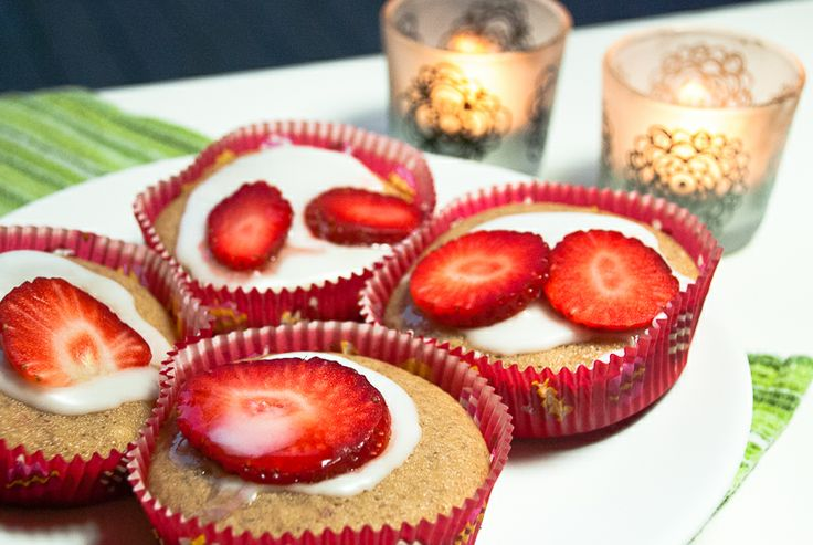 Jordbærmuffins - chezENGH