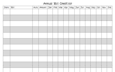 free printable bill organizer sheets printable bill payment checklist