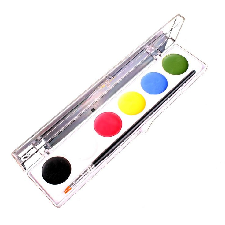 Mehron Water Works Face Painting Kits (6 Colors) WW
