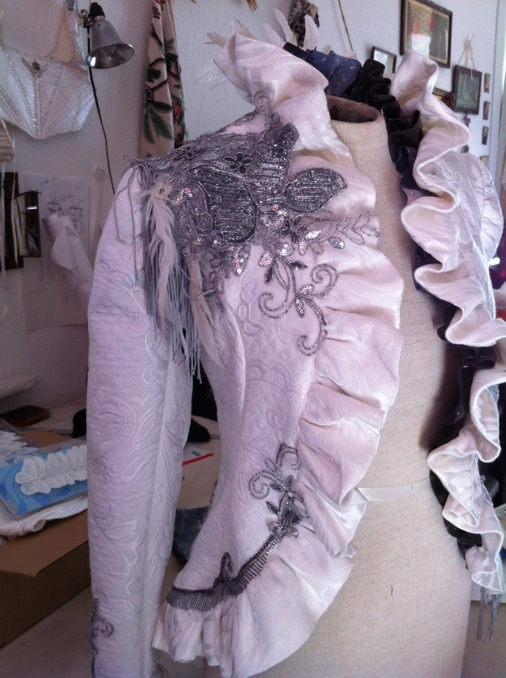 Collaboration between KathleenCrowleyCouture and Black Lotus Clothing