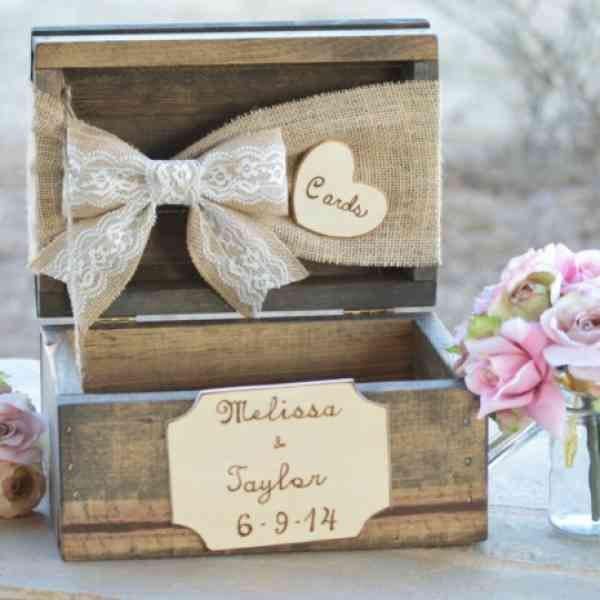 25 best urne mariage images on pinterest wedding card boxes wedding cards - Mariage idees originales ...