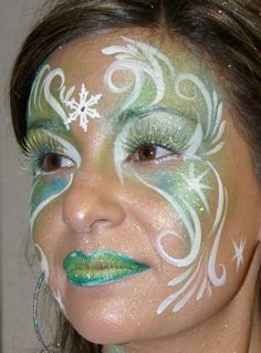 This is an old ice fairy design I did for a private party years ago.