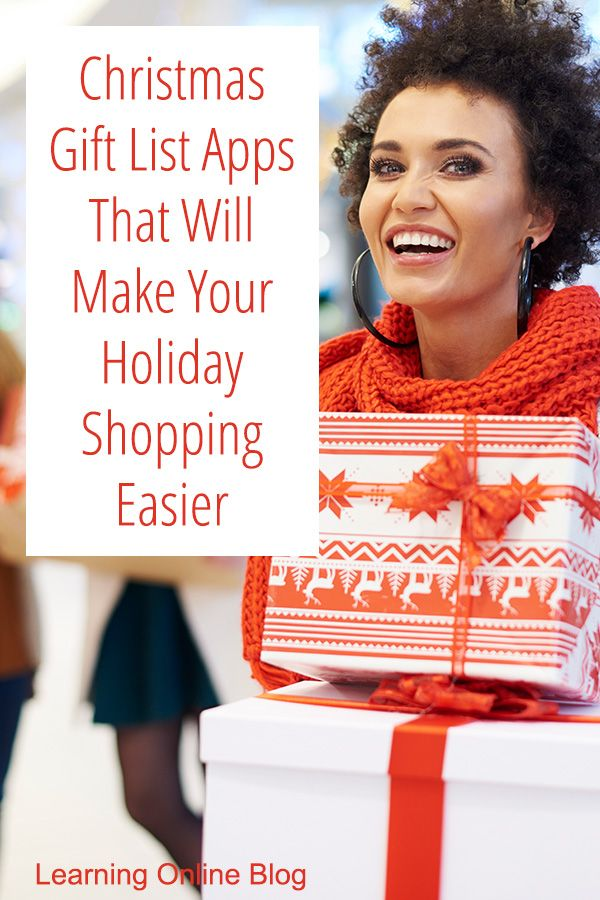 Christmas Gift List Apps That Will Make Your Holiday Shopping Easier Gift List App Christmas Gift List Christmas Gift List App
