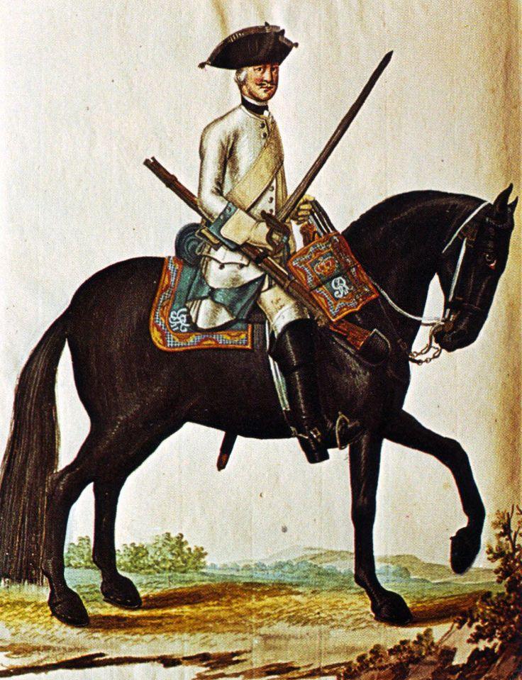 Hanover in the Seven Years War: Regiment of Horse von Veltheim by Karsten
