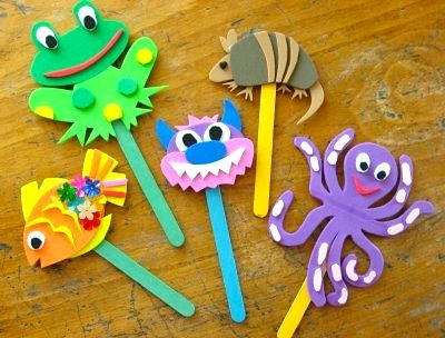 puppet acive for toddles | Puppet Theater - Things to Make and Do, Crafts and Activities for Kids ...