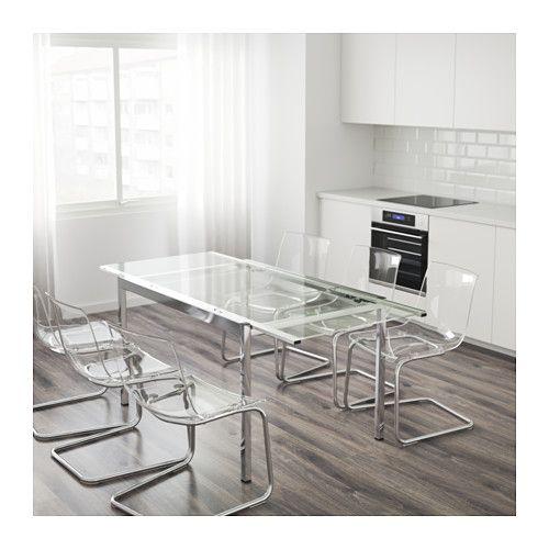 "$299 GLIVARP Extendable table Length: 49 Max 74 "" Width: 33 1/2 "" height: 29 1/8 "" - IKEA"