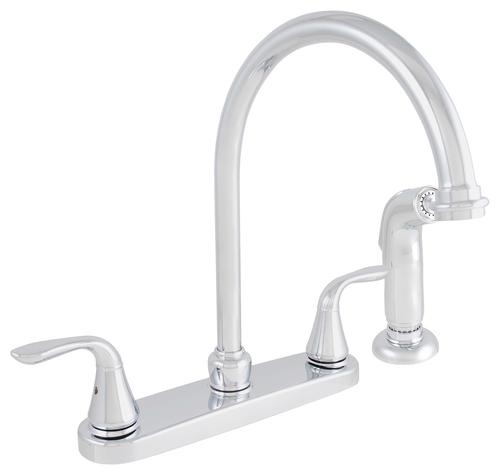 $59.99 @ Menards Tuscany/Volo Chrome Two Wing Handle High Arc Kitchen Faucet  at Menards - 18 Best —� Vinylgulve —� Images On Pinterest Vinyl Flooring
