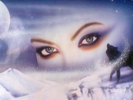 Mystical Goddess Eyes