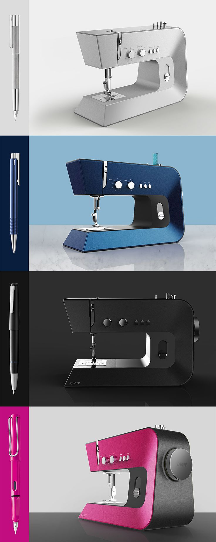Product design / Industrial design / 제품디자인 / 산업디자인 / sewing machine / 미싱기