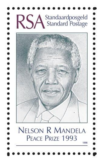 Putting a stamp on one of South Africa's Nobel peace prize winners