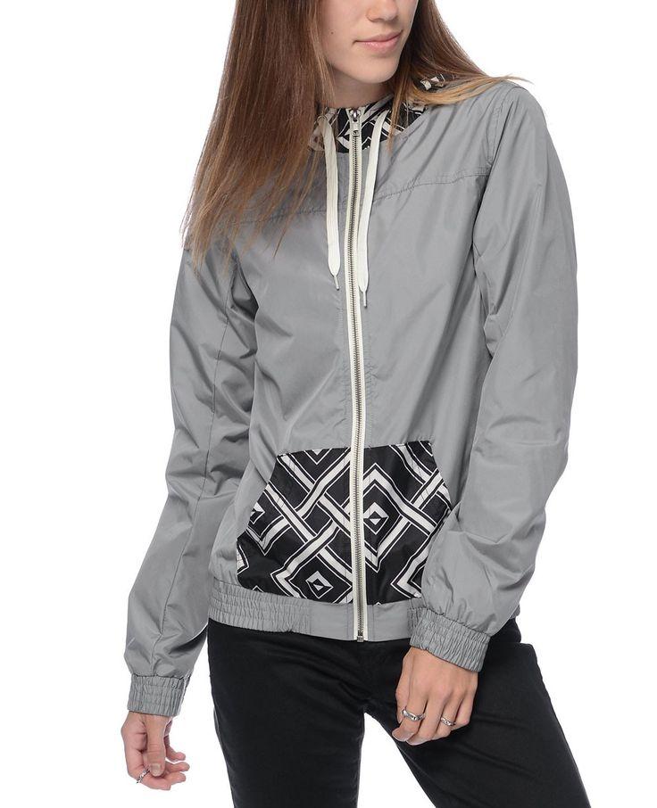http://www.quickapparels.com/new-women-grey-print-lined-windbreaker.html