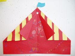 www.jufjanneke.nl   Circustent vouwen
