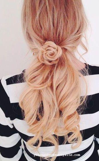 Tutorial de Peinado media cola con trenza #peinadosartisticos