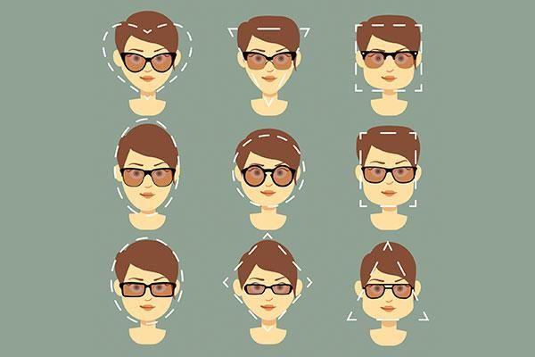 how to choose eyeglasses for face shape