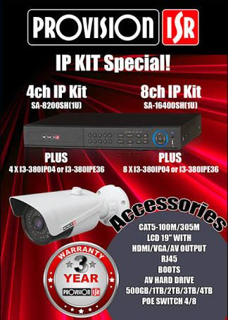 Vertical IT Systems - Provision ISR IP surveillance system specials now on! Contact us for these products to be installed at your business or home.  www.verticalitsys.com