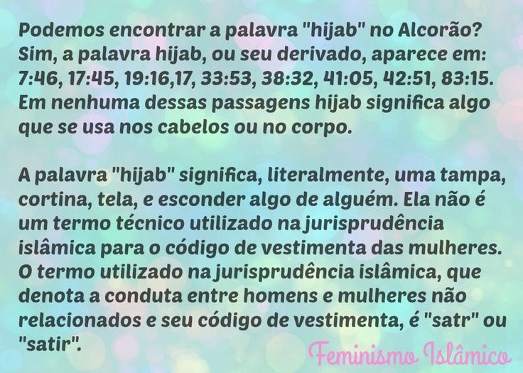 hijab véu alcorão