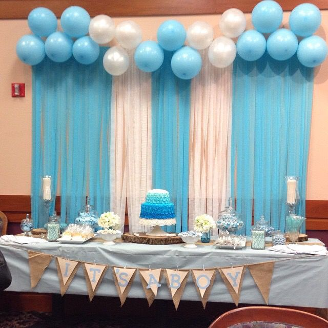 Baby Boy Baby shower