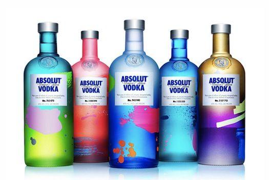 Vodka brand makes a splash where no two bottles are the same.