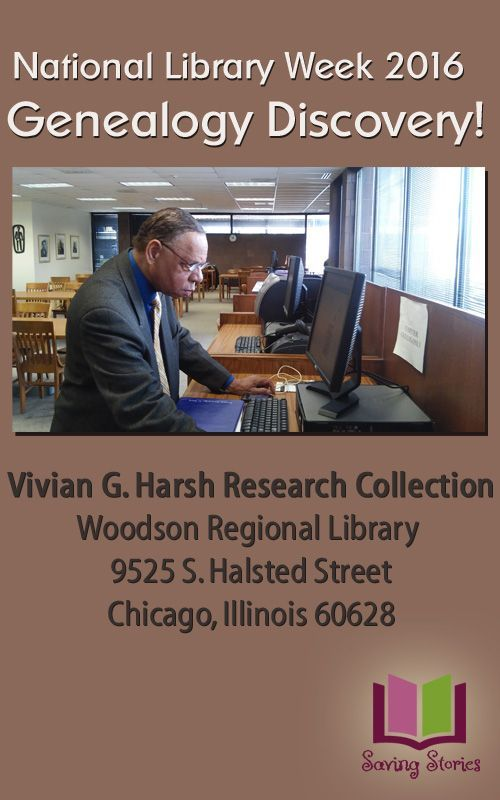 Our most recent find!  National Library Week 2016 Genealogy Discovery!  http://robinsavingstories.blogspot.com/2016/04/national-library-week-2016-genealogy.html #NLW16 #genealogy #SavingStores