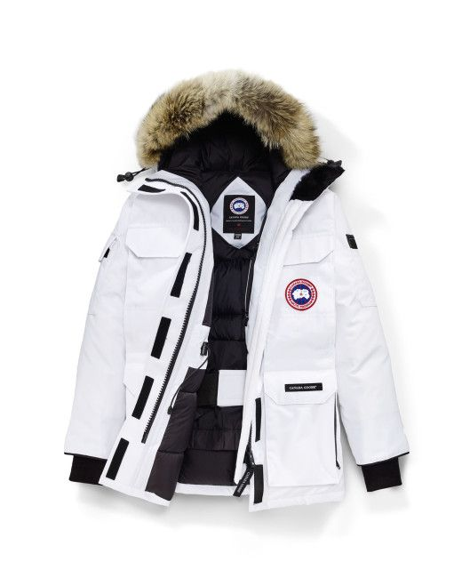 1fc7ae49963 Canada Goose | White Expedition Parka Fusion Fit | Lyst | Outerwear  Everywhere | Long parka coats, Parka coat, Parka