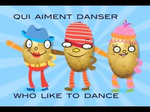 Jingle Bilingual Une Patate - French - YouTube