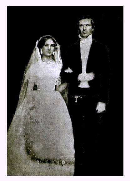 1884 Photo Of A Bride And Groom Black And White Love