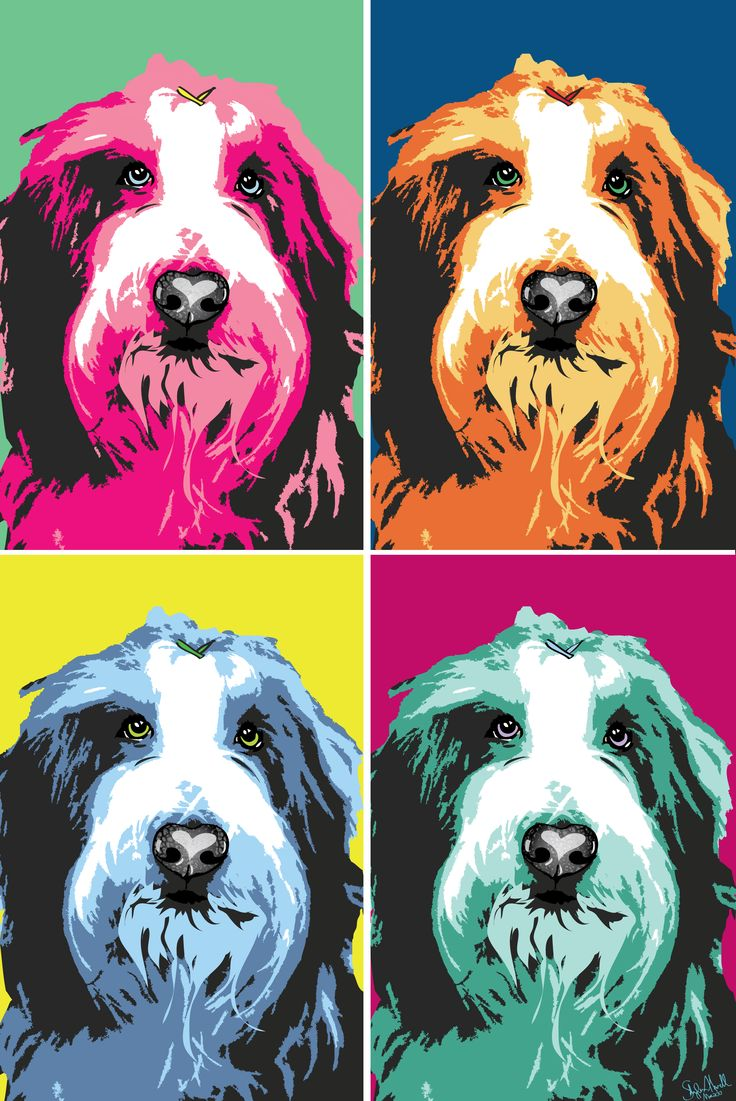 14 besten andy warhol loved dogs bilder auf pinterest. Black Bedroom Furniture Sets. Home Design Ideas