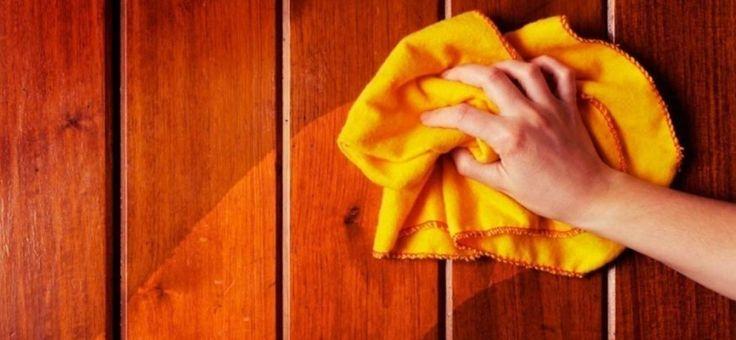 Haz que tus muebles y pisos de madera queden limpios y brillantes con estos productos que puedes hacer tú mismo en tu hogar.