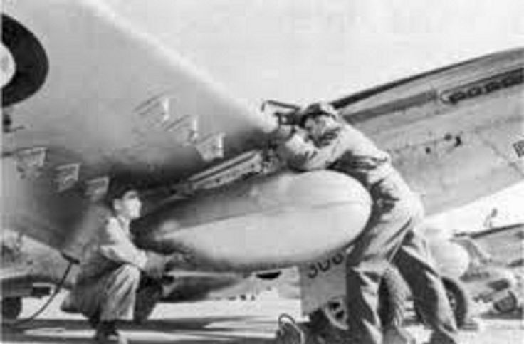 Korean War Military Units - South African Air Force Unit is Korea