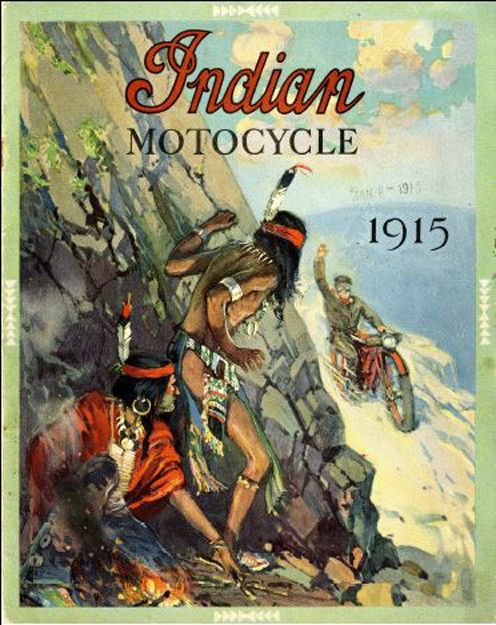 Riding Vintage: Images of Indians
