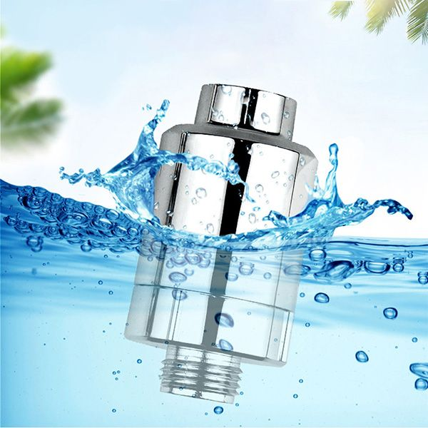 KCASA Output Universal Shower Filter Activated Carbon Water Filter Household Kitchen Faucets Purifier