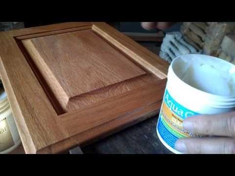 Aqua Coat Grain Filler - YouTube