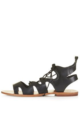 FIG Lace-Up Sandals