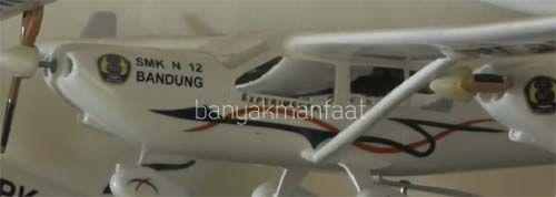 Miniatur Pesawat Terbang Buatan Orang Cimahi