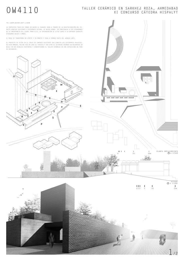 SEGUNDO PREMIO: LEMA OW4110 Pablo de Orueta de Olazabal  Antonio Robles izquierdo  Arquitectos Escuela Arquitectura Univ. Navarra ETSAUN