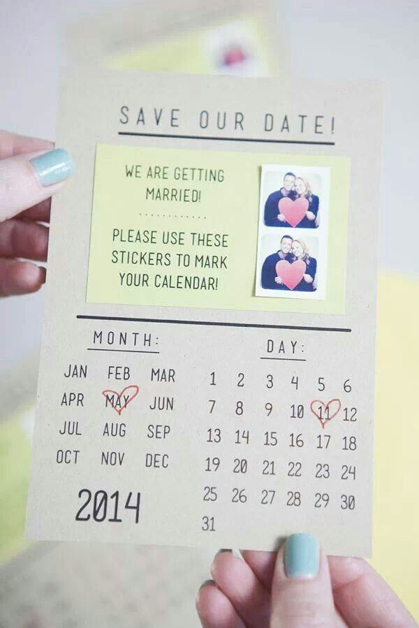 Save The Date ideas.