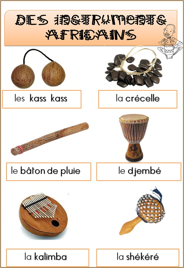 Les instruments africains                                                                                                                                                                                 Plus