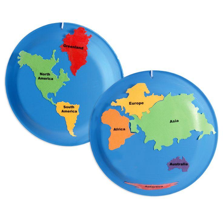 Ellisoneducation.com - Paper Plate Globe