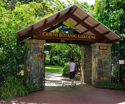 Cairns Botanic Gardens: A hidden gem of compact botanic gardens in Australia, close to Cairns airport and will be a richly rewarded visit.