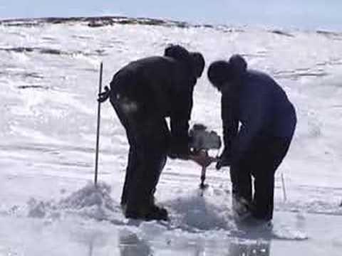 nunavut ice fishing