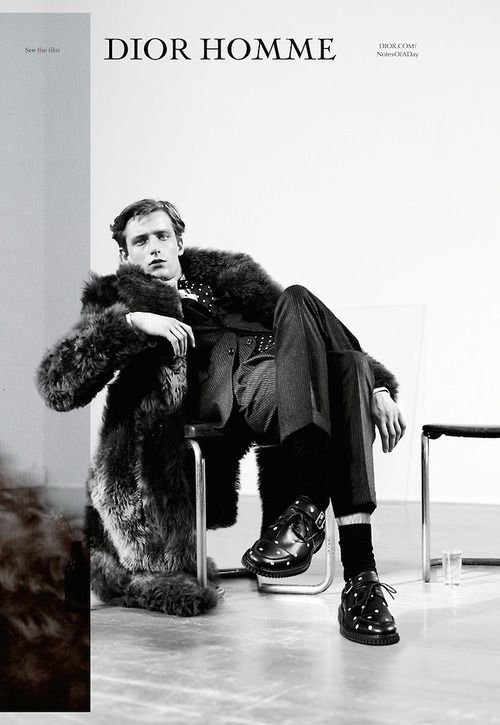 Laurie Harding for Dior Homme F/W 14 Campaign by Willy Vanderperre