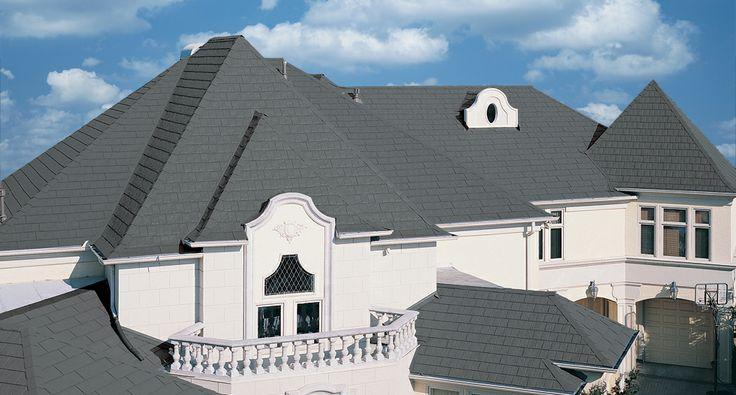 Best Metalworks® Stonecrest® Slate In Sierra Slate Grey Roof Metalworks® Steel Shingles 400 x 300
