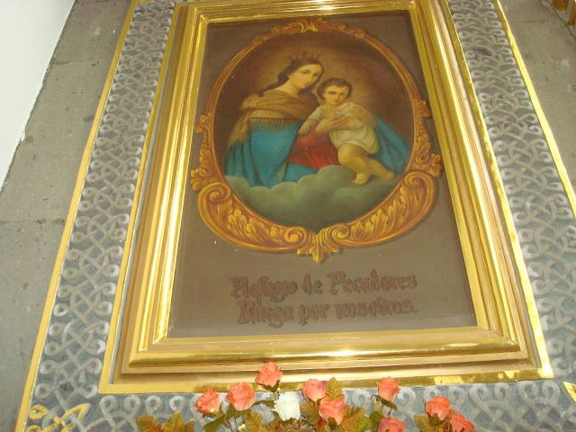 sancarlosfortin: virgen del refugio en templo de nuestro señor de l...