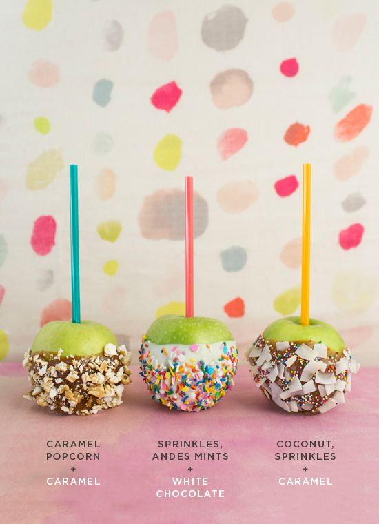 Creative candy apple recipes. Ooh we want to try all of them!