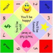 paper fortune teller template