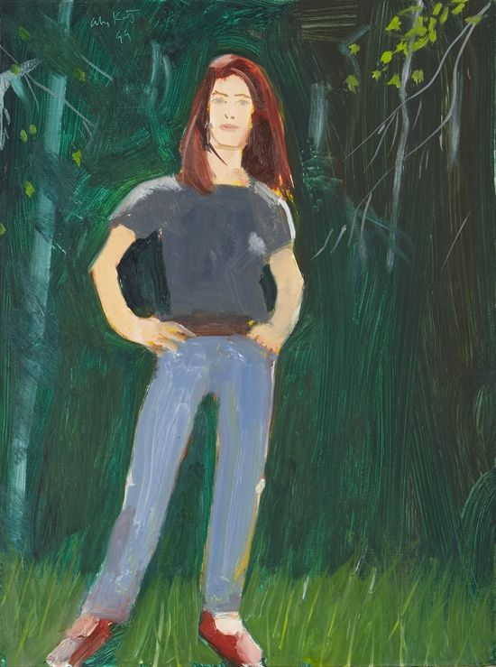Kym by Alex Katz on artnet Auctions