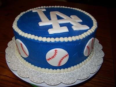 Dodgers Cake =]