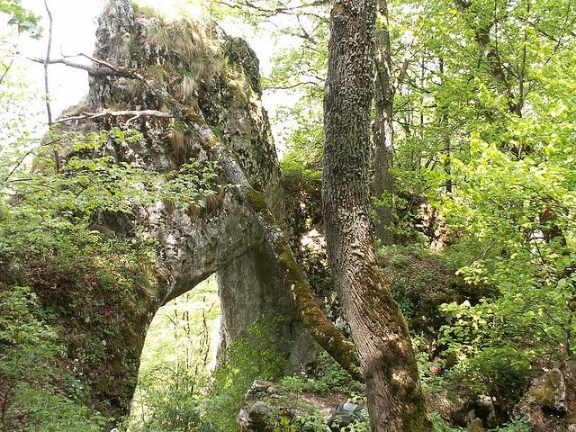 Poarta Zmeilor portal in Apuseni Mountains,Roumania
