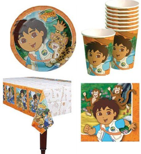 Go Diego, Go! Birthday Party Supplies... for only $39.99